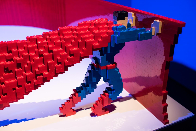 The art of the brick DC SuperHeroes @Chadi, Abou Sariya